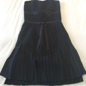 Marc by Marc Jacobs black strapless dress - size 2